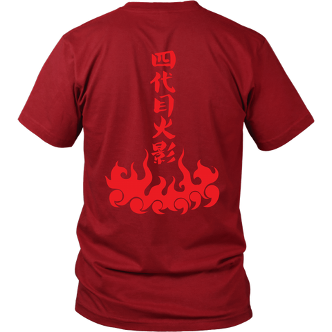 Naruto - The Fourth Hokage - Men Short Sleeve T Shirt - TL01232SS