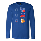 Pet - CORGI FUNNY - Long Sleeve T Shirt - TL00823LS