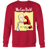 One Punch Saitama We Can Do It Sweatshirt T Shirt - TL00452SW