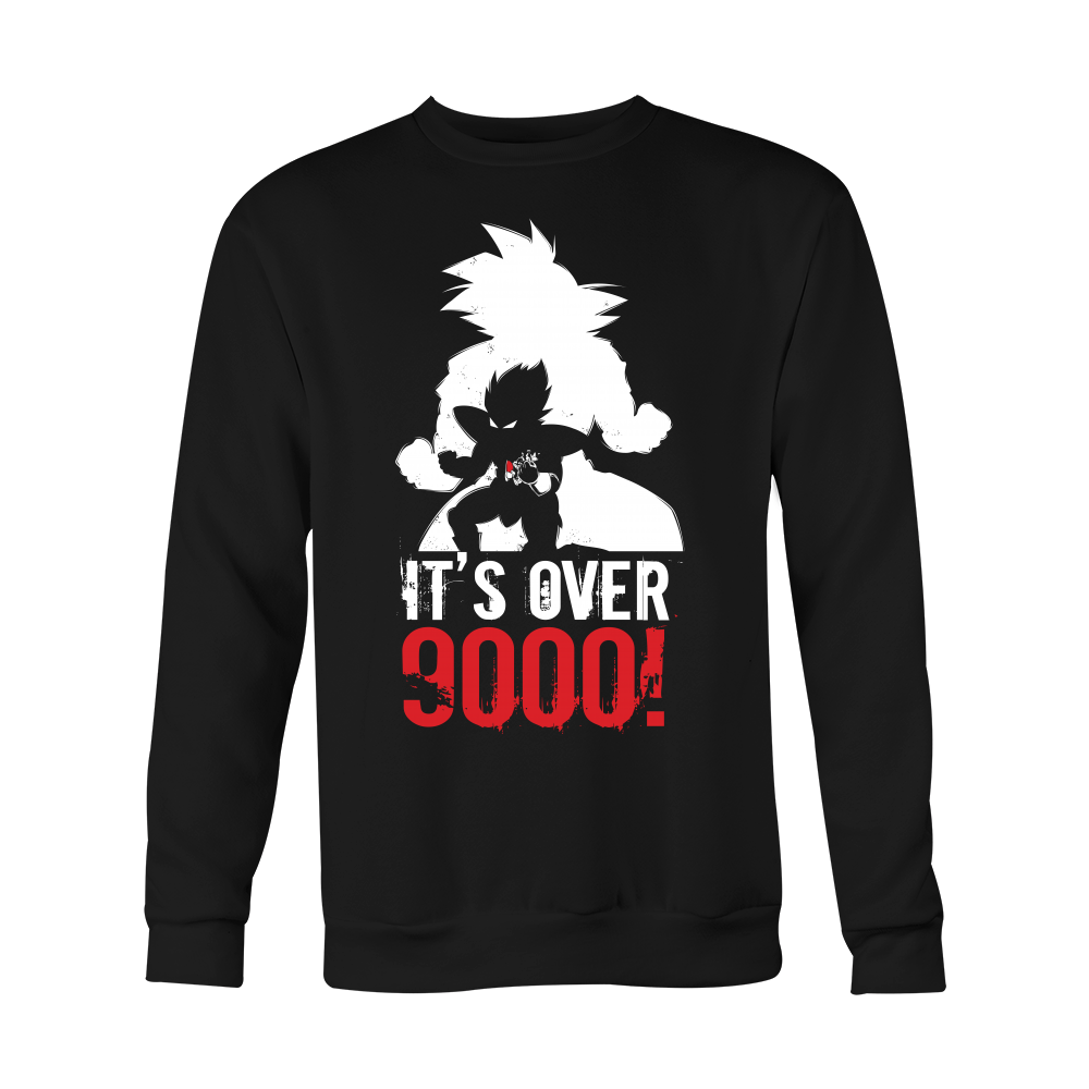 Super Saiyan Over 9000 Men Sweatshirt T Shirt - TL00532SW