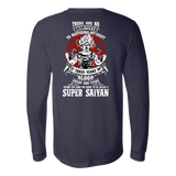 Super Saiyan Long Sleeve T shirt - GOKU TRAINING TO GET YOUR TITLE - TL00045LS