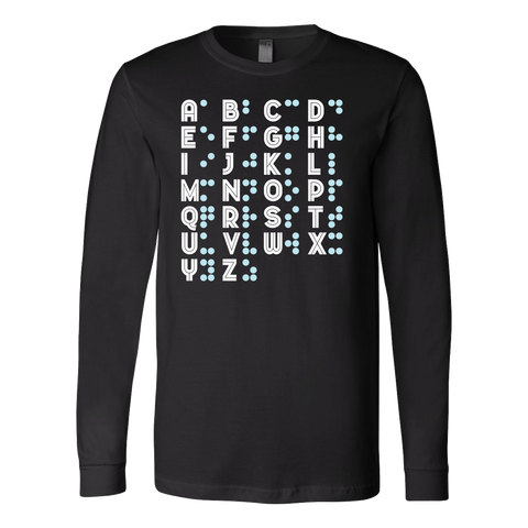 BRAILLE Long Sleeve T Shirt - TL00688LS - The TShirt Collection