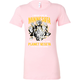 Super Saiyan I May Live in Minnesota Woman Short Sleeve T shirt - TL00085WS