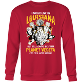 Super Saiyan Louisiana Sweatshirt T shirt - TL00077SW