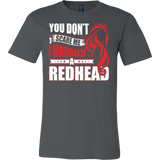Hobbies - you dont scare me i married a redhead 2 - men short sleeve t shirt - TL00837SS