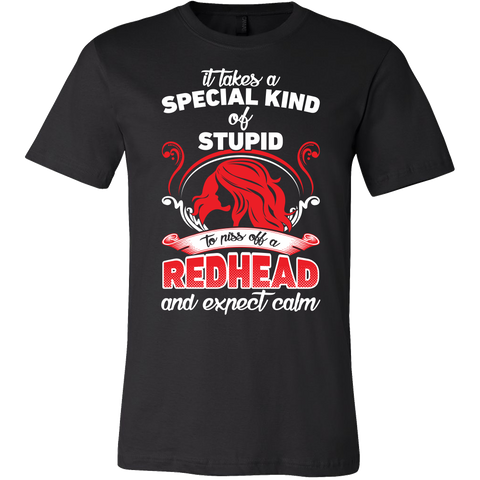 Redhead Shirts It Takes A Special Kind of Redhead Men Short Sleeve T Shirt - TL00668SS