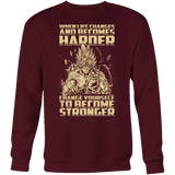 Super Saiyan Bardock become stronger Sweatshirt T Shirt - TL00476SW