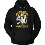 Super Saiyan West Virginia Unisex Hoodie T shirt - TL00097HO