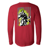 American Super Saiyan Broly Long Sleeve T shirt - TL00001LS - The TShirt Collection
