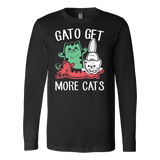 Gato get more cats Long Sleeve T Shirt - TL00658LS