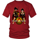 Super Saiyan - Spartaiyans  -Men Short Sleeve T Shirt - TL01367SS