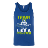 Super Saiyan Broly Train Like A Monster Unisex Tank Top T Shirt - TL00554TT
