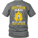 Super Saiyan - i am a super saiyan dad - Men Short Sleeve T Shirt - TL01135SS