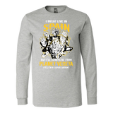 Super Saiyan I May Live in Spain Long Sleeve T shirt - TL00112LS