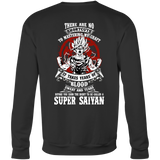 Super Saiyan Sweatshirt T shirt - GOKU TRAINING TO GET YOUR TITLE - TL00045SW