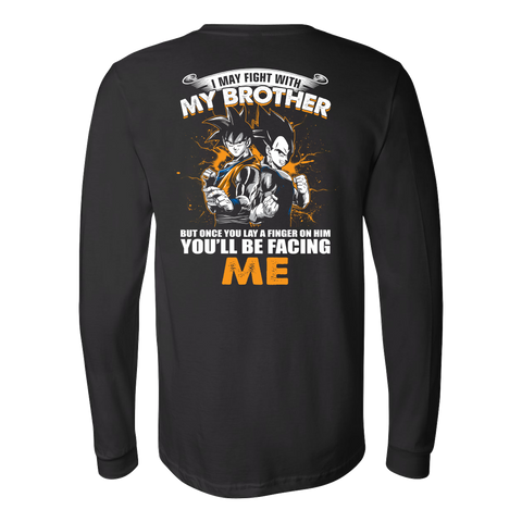 Super Saiyan - You'll Be Facing Me - Unisex Long Sleeve T Shirt - TL01140LS