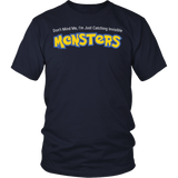 Pokemon Im just catching invisible monster Men Short Sleeve T Shirt - TL00624SS