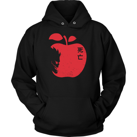 Death Note - The Death Face - Unisex Hoodie T Shirt - TL01001HO