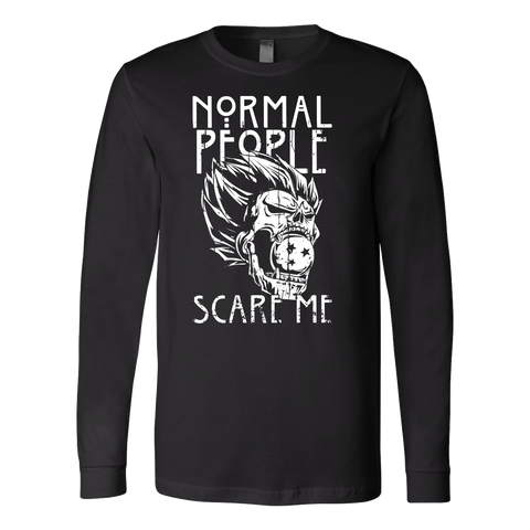 Saiyan-Normal people scare me- unisex long sleeve t shirt - TL00872LS
