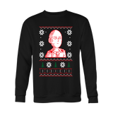 One Punch Man - Saitama Ugly Sweater - Holiday Special Sweatshirt T Shirt - TL00918SW