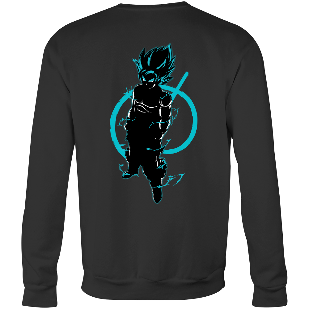 Super Saiyan Goku God Sweatshirt T shirt -TL00206SW