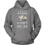 Christmas Hoodie- tis the season to get schwifty - Unisex Hoodie - TL00978HO - The TShirt Collection