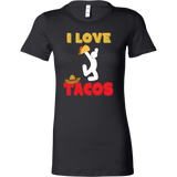 Taco mexican i love tacos Woman Short Sleeve Funny T Shirt - TL00590WS