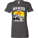 Super Saiyan New Mexico Grown Saiyan Roots Woman Short Sleeve T Shirt - TL00157WS