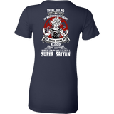 Super Saiyan GOKU TRAINING TO GET YOUR TITLE Woman Short Sleeve T shirt - TL00045WS