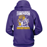 Super Saiyan Gohan Show Mercy in Battle Unisex Hoodie T shirt - TL00447HO