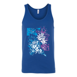 Super Saiyan Goku and Vegeta Fight Unisex Tank Top T Shirt - TL00027TT
