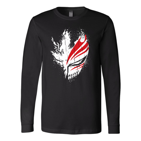 Bleach - Ichigo Mask - unisex long sleeve t shirt - TL00856LS - The TShirt Collection