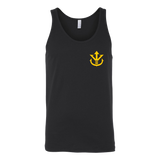Super Saiyan Yellow Vegeta Saiyan Crest Unisex Tank Top T Shirt - TL00014TT