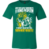 Super Saiyan Gohan Show Mercy in Battle Men Short Sleeve T Shirt - TL00447SS