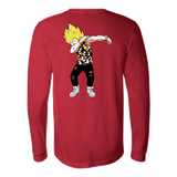 Super Saiyan Vegeta Hiphop Dance Long Sleeve T shirt -TL00236LS