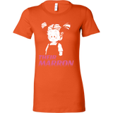 Super Saiyan Marron Father And Daughter Woman Short Sleeve T Shirt - TL00523WS
