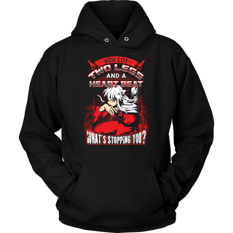 Inuyasha - What stopping you - Unisex Hoodie T Shirt - TL01095HO