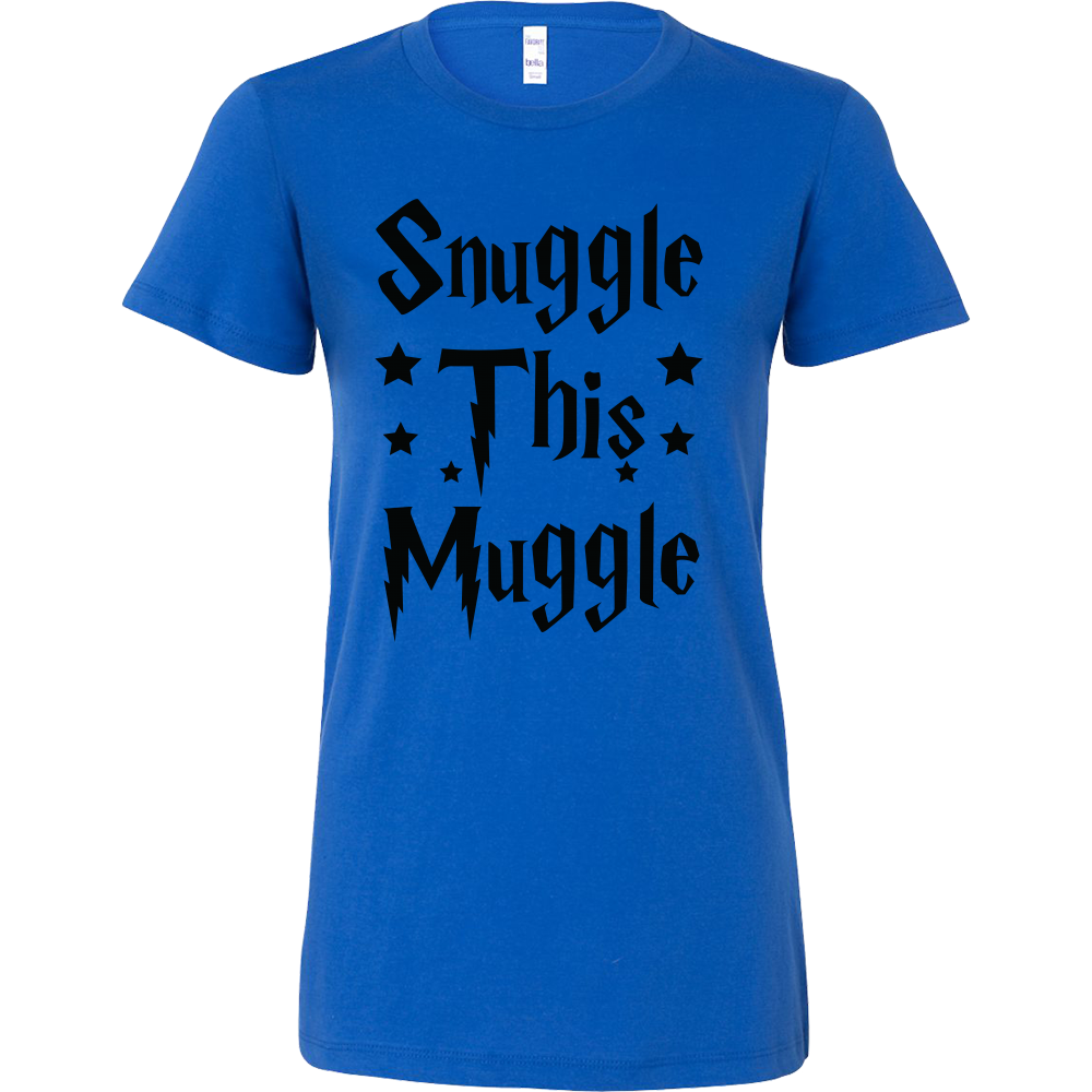 Harry Potter - Snuggle this muggle - Woman Short Sleeve T Shirt - TL00965WS