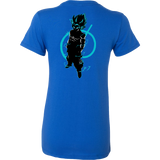Super Saiyan Goku God Woman Short Sleeve T Shirt -TL00206WS