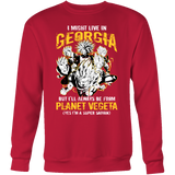 Super Saiyan Georgia Sweatshirt T shirt - TL00073SW