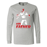 One Piece White Beard Father and Son Long Sleeve T shirt - TL00515LS