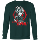 Super Saiyan Goku Dad Sweatshirt T Shirt  - TL00485SW