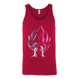 Super Saiyan - Super Saiyan Blue vs Super Saiyan Rose - Unisex Tank Top T Shirt- TL00829TT
