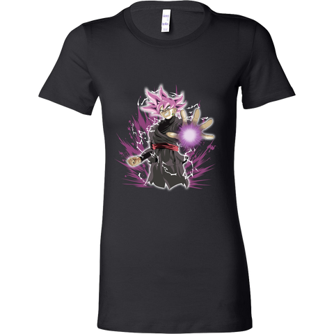 Super Saiyan - Black Goku -Women Short Sleeve T Shirt – TL01151WS