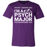 I'm not judging you i'm a spyh major i'm diagnosing you Men Short Sleeve T Shirt - TL00677SS