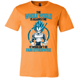 Super Saiyan Vegeta God Fair Otherwise Men Short Sleeve T Shirt - TL00552SS