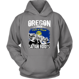 Super Saiyan OREGON Grown Saiyan Roots Unisex Hoodie T shirt - TL00168HO