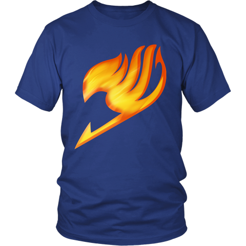 Fairy Tail - Symbol of the clan 2 -Men Short Sleeve T Shirt - TL01254SS