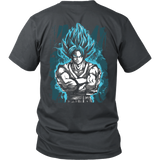 Super Saiyan - SSJ Vegito God Blue - Men Short Sleeve T Shirt - TL00897SS