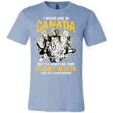 Super Saiyan I May Live In Canada Men Short Sleeve T Shirt - TL00110SS